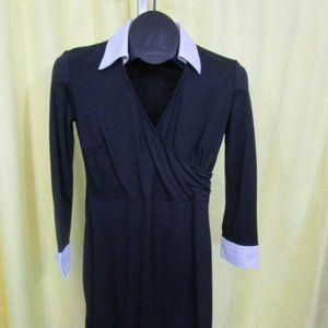 Loft Petites Black dress